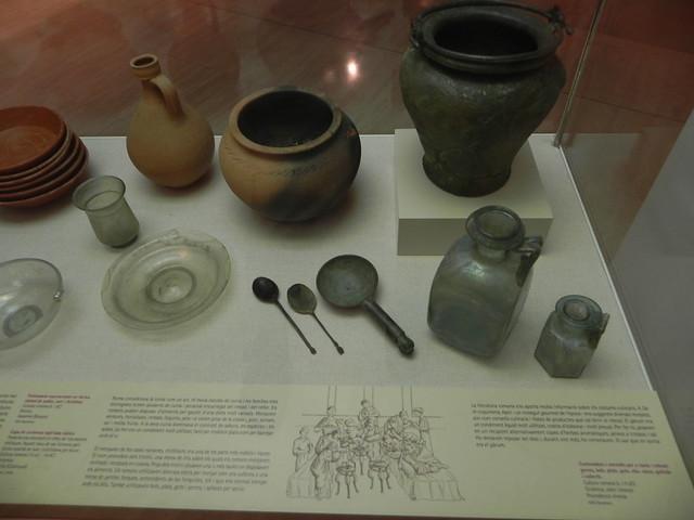 Utensilios de cocina romana museo arqueol gico de - Utencillos de cocina ...