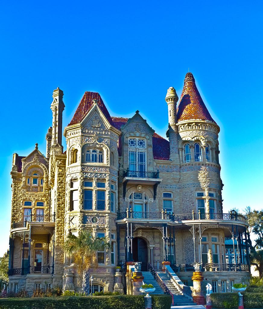 Galveston Tx: Bishop's Palace - Galveston, Texas