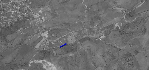 Powell Valley Drive-In aerial photo 1969 | by OzonerGPS
