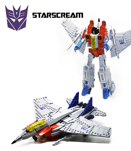 "Transformers G1 Starscream | by ""Orion Pax"""