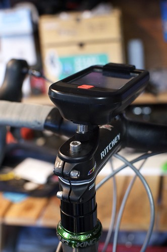iBike Dash+Power: Stem Mount | by Hugger Industries