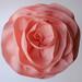 Felt/wool Baby Pink Flower Hat detail