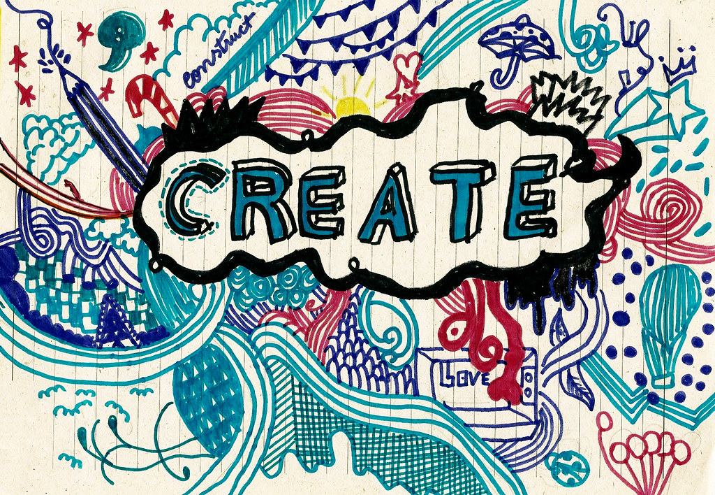 Create construct lorraine santana flickr for How to make creative drawings