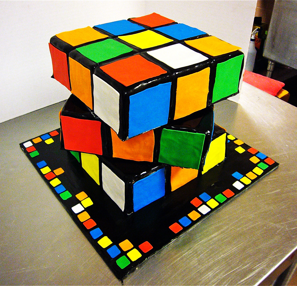 How To Make A Cube Shaped Cake