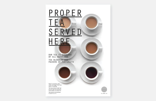 Moving Brands - All About Tea Poster | by SeptemberIndustry