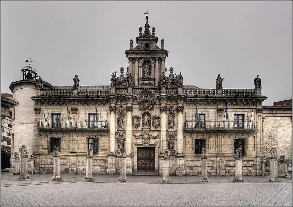 Fachada universidad de valladolid la fachada barroca de - Escuela de arquitectura de valladolid ...