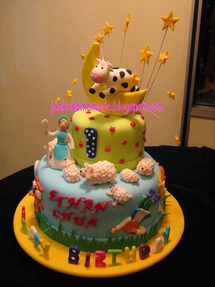 Nursery Rhymes Tier Cake
