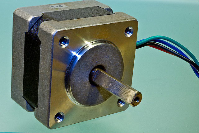 Small stepper motor flickr photo sharing for Very small stepper motor