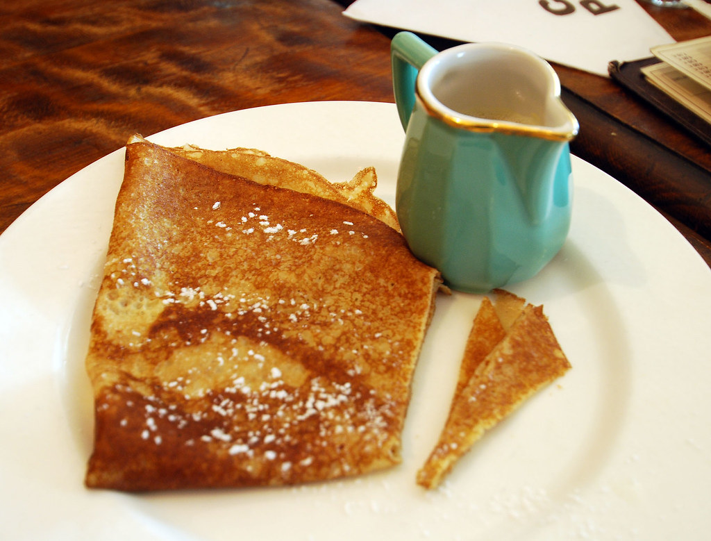 The Crepe Cafe Menu