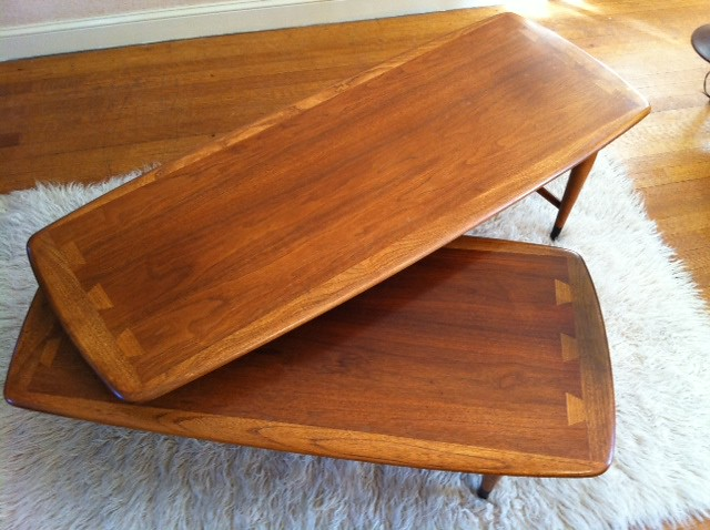 Vintage lane furniture swivel table great 1960 39 s lane for C furniture new lynn