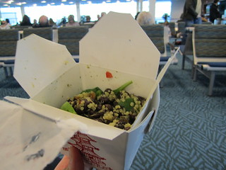 Leftovers for Breakfast in Vancouver Airport | by veganbackpacker