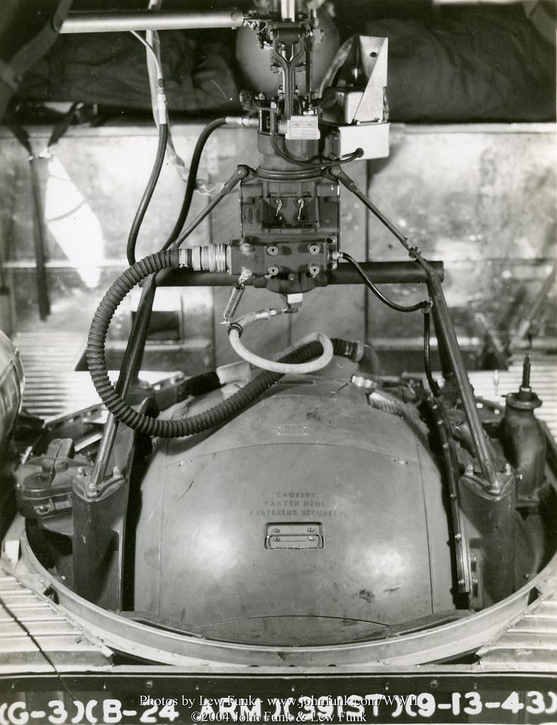 B 24 Ball Turret B-24 Ball Turre...