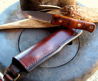 Classic bushcraft knife by Adventure Sworn | by dog.breath