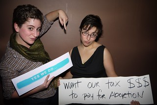 last night's feminist party 2/24/11 | by 3Wave