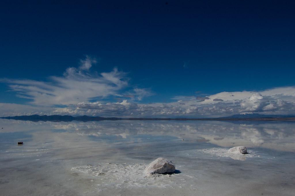 Sal Y Reflejo Salar Uyuni Bolivia Shorizo Izo