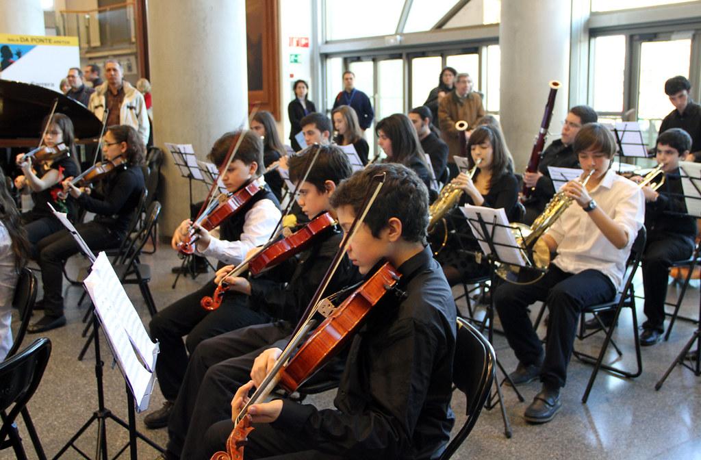 Orquesta del conservatorio de le n en musika m sica bilbao - Conservatorio musica bilbao ...
