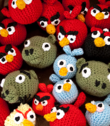 Some of my Angry Bird collection | by Terriko