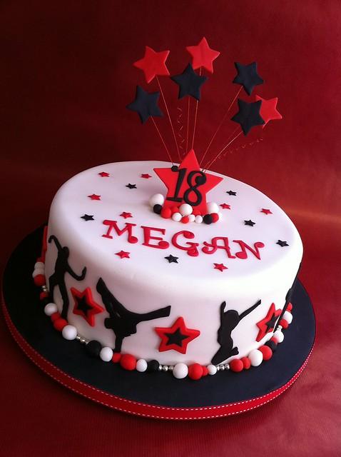 Dance Party Cake Images : Megans dance cake Flickr - Photo Sharing!