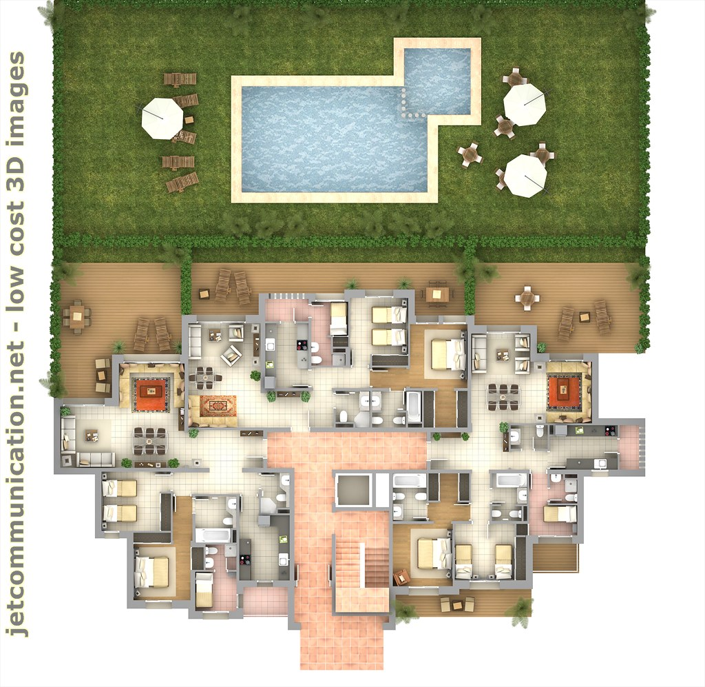 3d floor plan top view jetcommunication flickr
