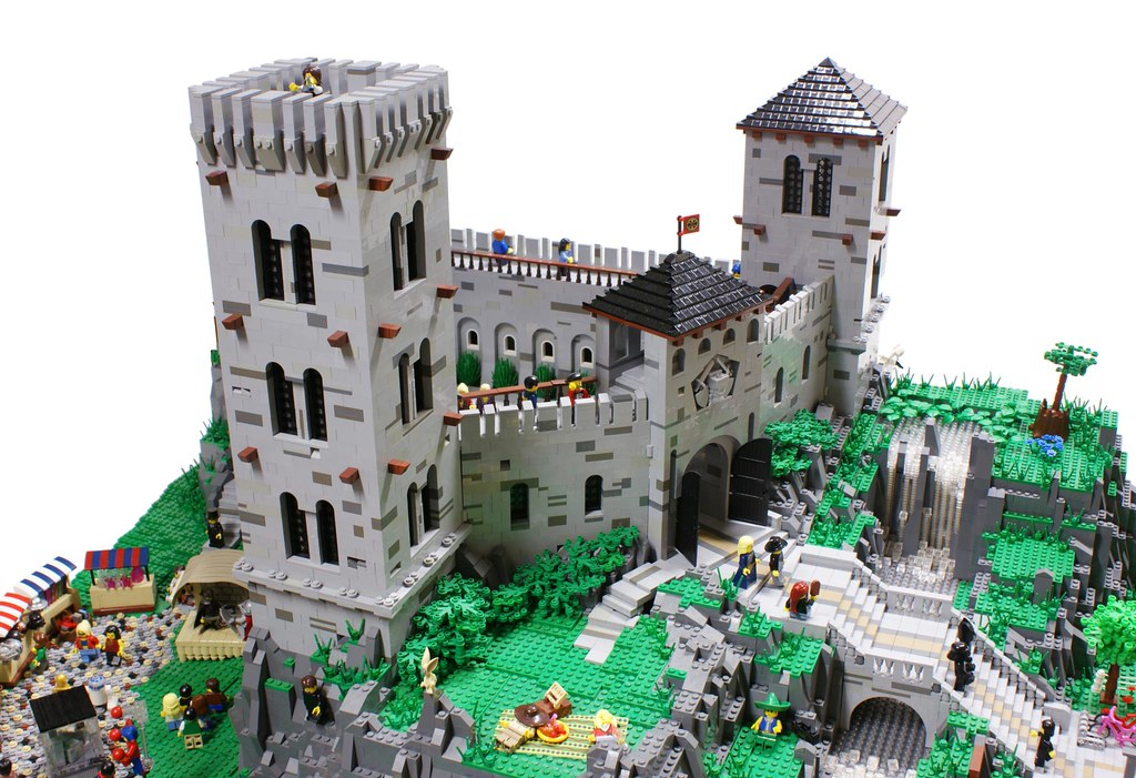 Medieval Castle Today My Vision Of The Classic Fortified
