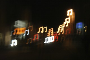 Music Note Bokeh | by all that improbable blue