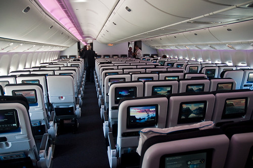 Air New Zealand 39 S New 777 300er Interior Economy Cabin Flickr Photo Sharing