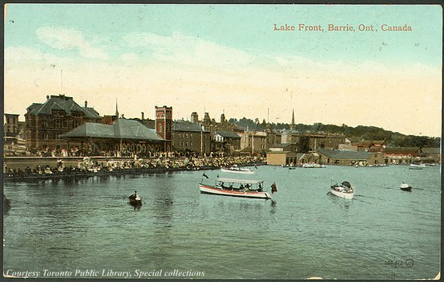 Lake Front, Barrie, Ontario, Canada (1910) | Flickr ...