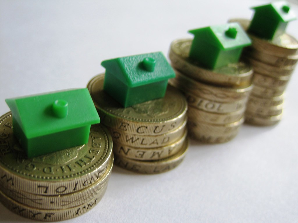 Houses On Coins Monopoly House On 1 Coins Images Money Flickr