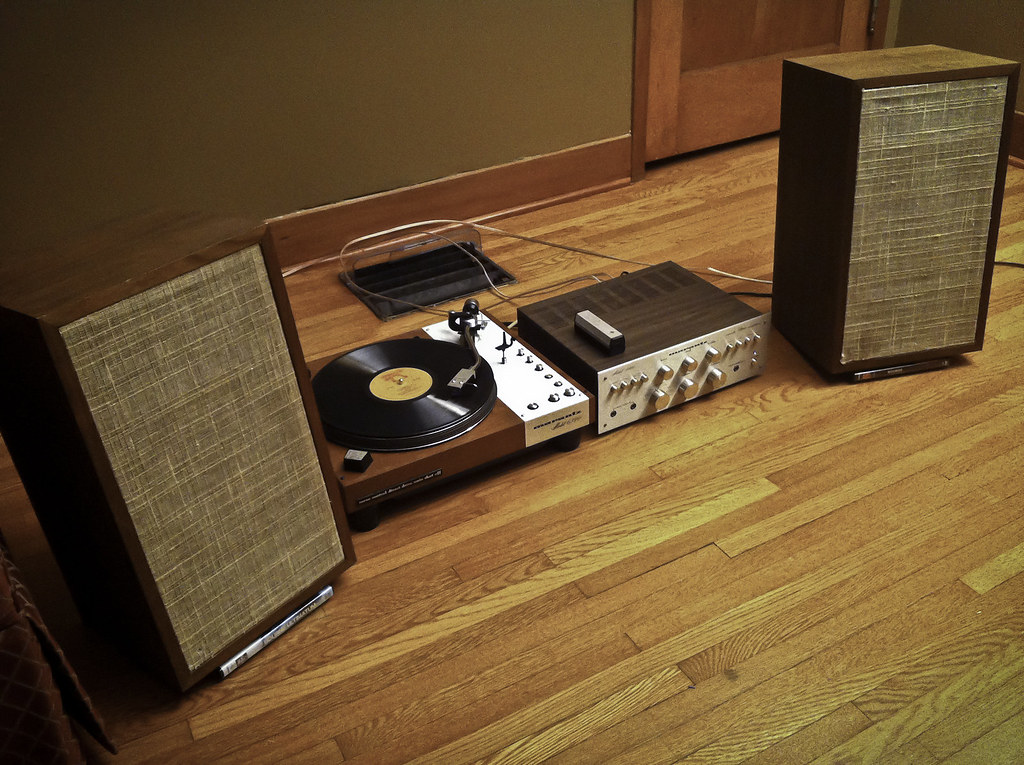 My New Vintage Hi Fi Rig First Listen Temp Setup To