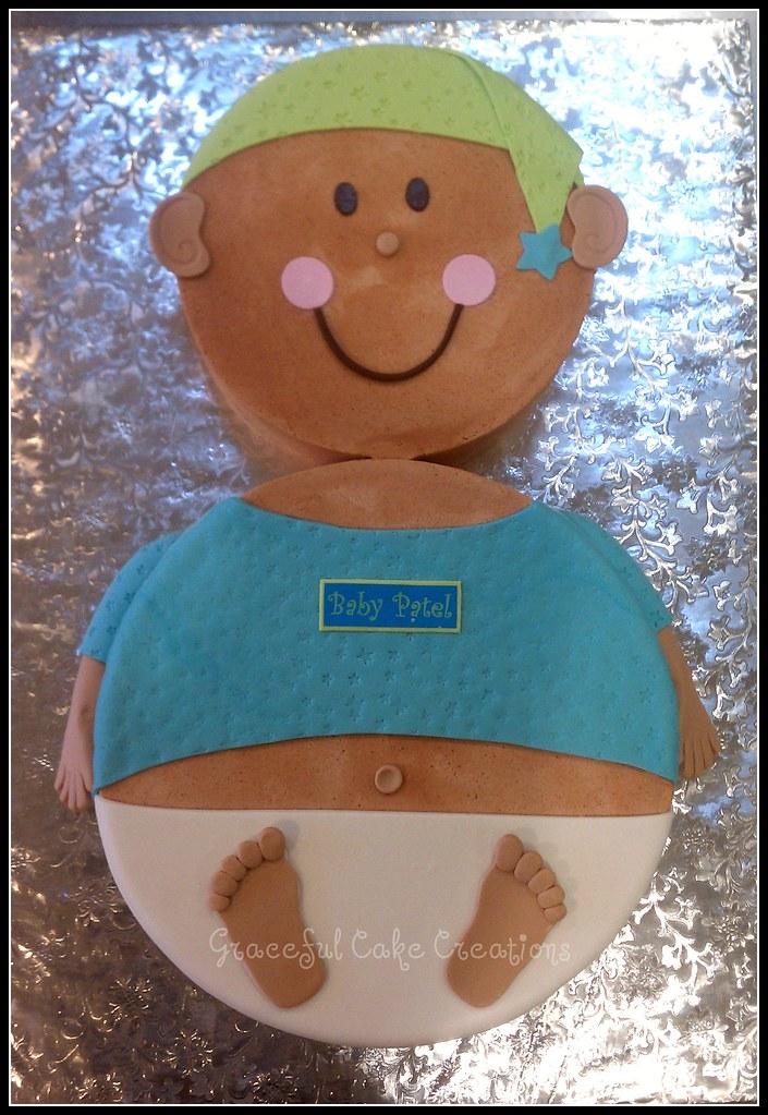 Baby Shower Cake Boy Point Cook