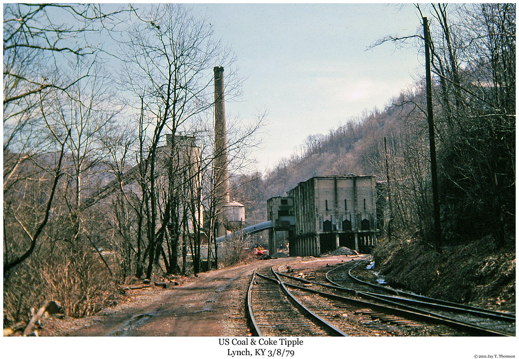 Us Steel Tipple Lynch Ky Reproduced 35mm Slide Photo