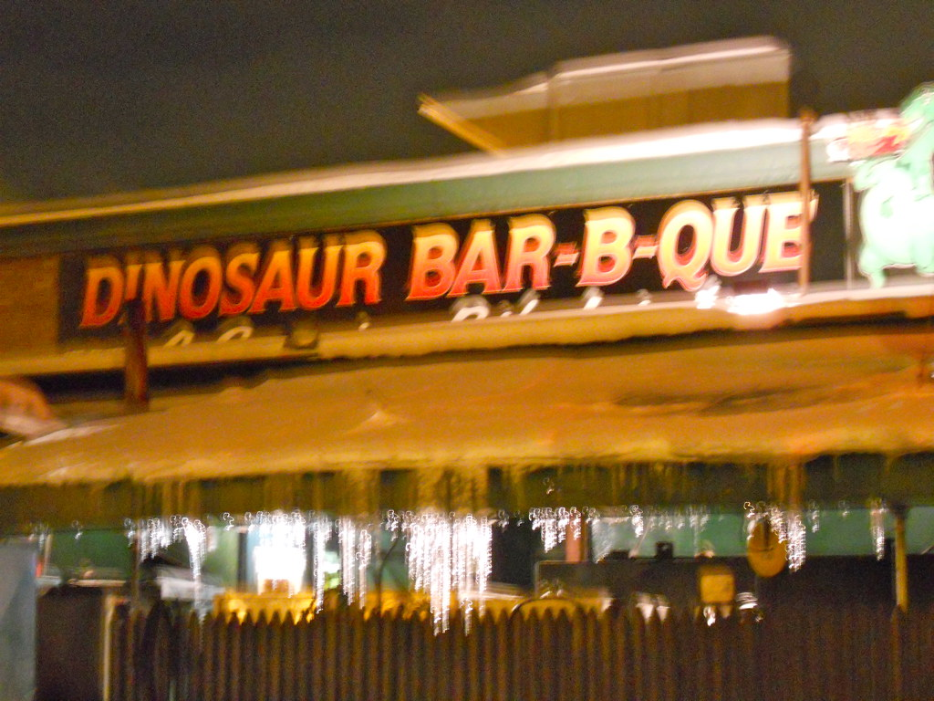 Dinosaur Bar B Que Restaurant Week