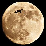 Supermoon, 18th March 2011, North London