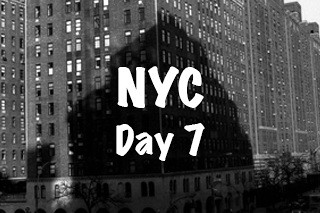 NYC Trip - Day 7 (Friday April 1st, 2016)