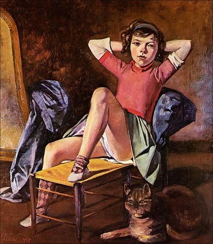Donna con Gatto - Balthus