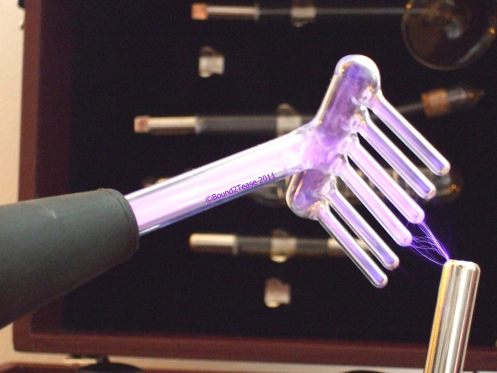 Rake electrode for readson violet wand the rake for Violet wand
