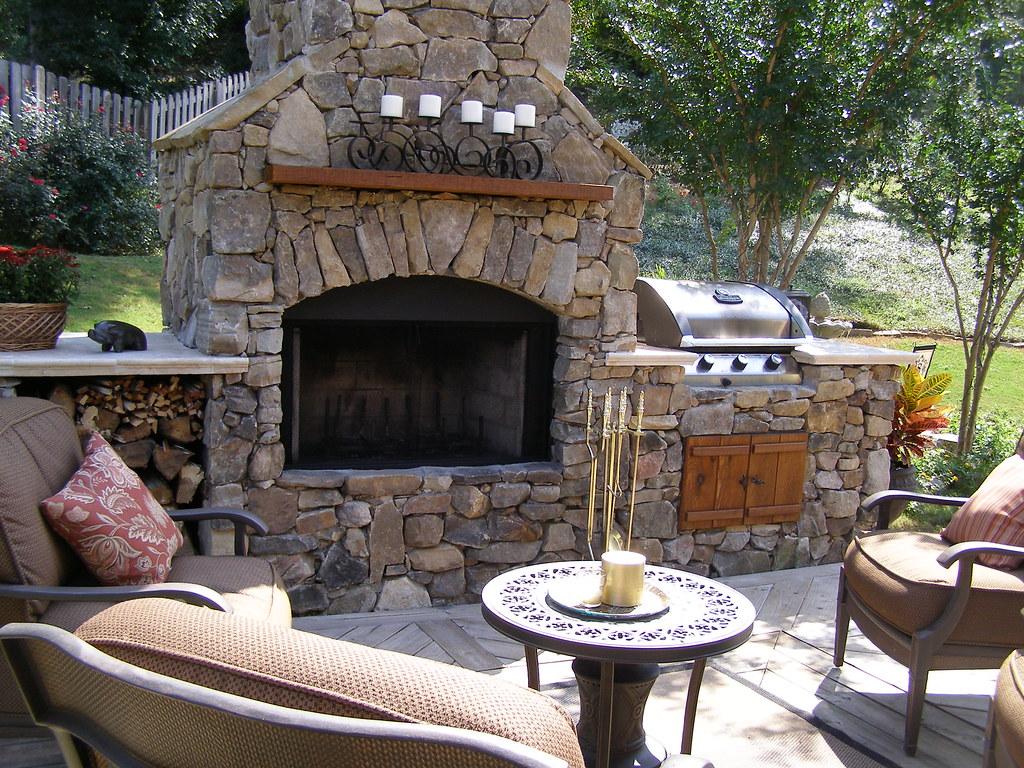 Tulsa Outdoor Fireplace Visit Www Okhardscapesupply Com