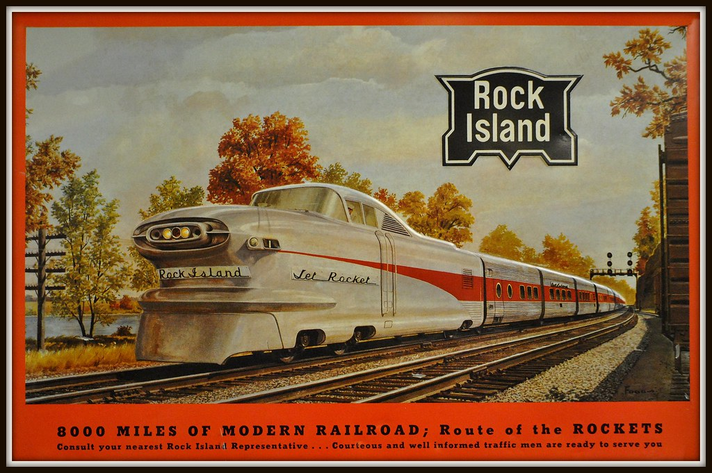 Quot Rock Island Quot Railroad The Chicago Rock Island And