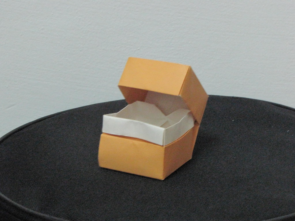 origami box and lid | origami box and lid design david ... - photo#21