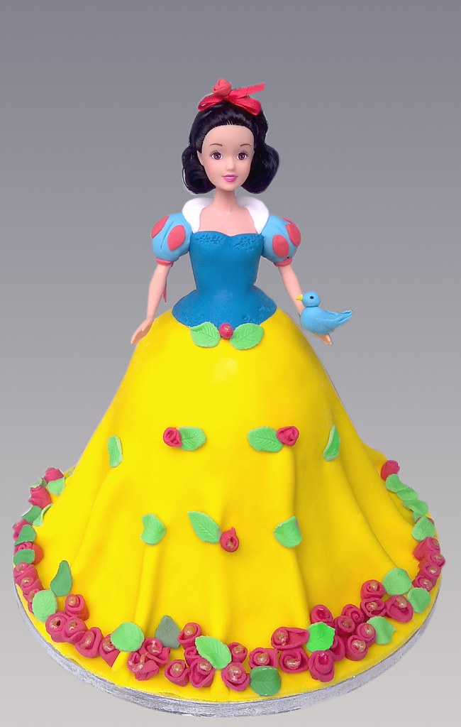 Snowwhite Cake Doll Angeliki Kalouta Flickr
