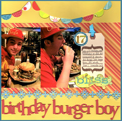 Birthday Burger Boy