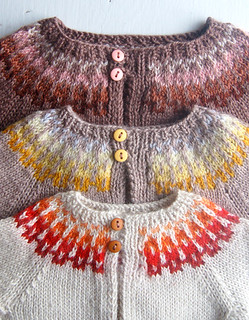 Whit's Knits: Baby Girl Fair Isle Cardigan | by the purl bee