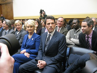 Ben Affleck Attends House Hearing on Rep of Congo | by Talk Radio News Service