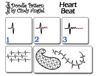 Heart Beat- Doodle Worksheet | by Paint Chip