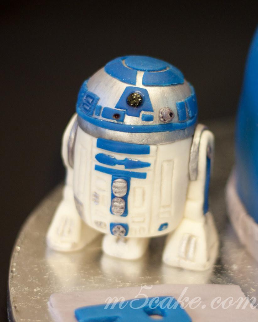 Star Wars Cake 2 Star Wars Cake And R2d2 Sugar Cookies