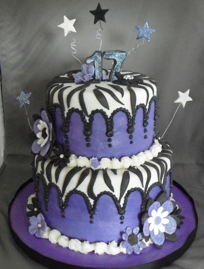 Purple Zebra Cake Purple And Zebra Cake The Idea For