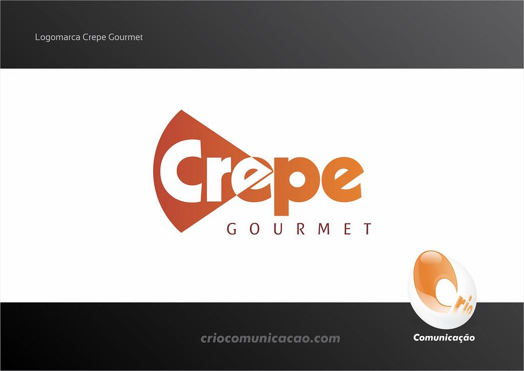 Logo Crepe Gourmet (Paragem Shopping) : Crio Comunicau00e7u00e3o : Flickr