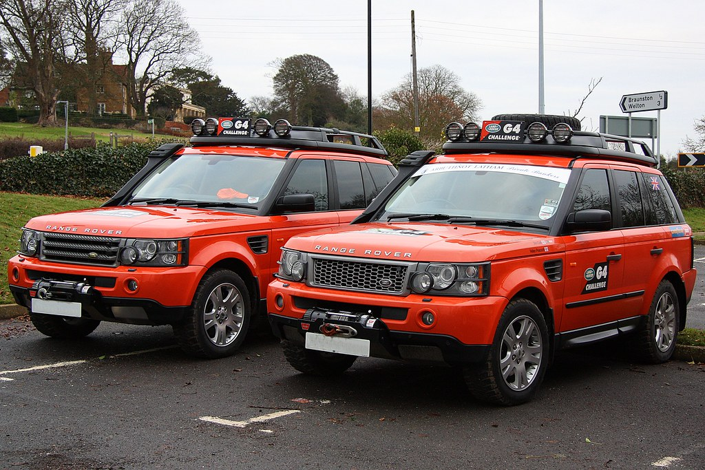 G4 Lr Range Rover Sport 1 A Selection Of G4 Land Rovers