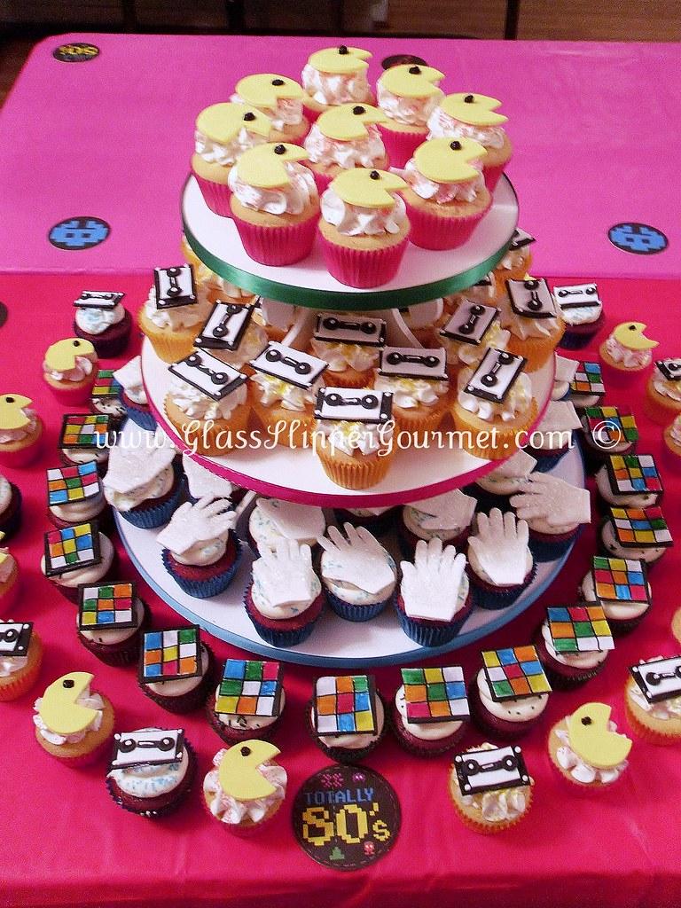 glass cake display