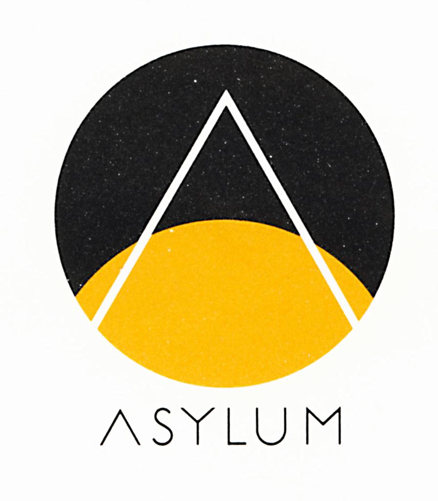 milton glaser  asylum records  logo